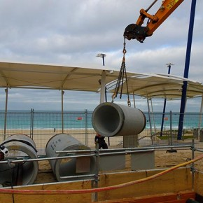 Scarborough Beach Drainage Microtunnelling DN500 & 900